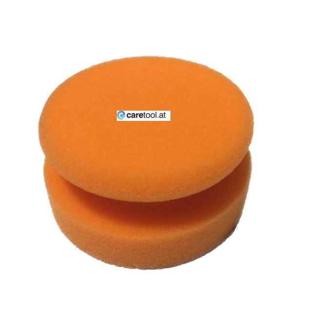 Polierpuk, MEDIUM, orange, 80mm